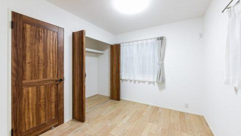 【洋室イメージ】 全居室収納完備なのでお部屋が広々使えます。 ※実際の間取り・仕様は異なります。