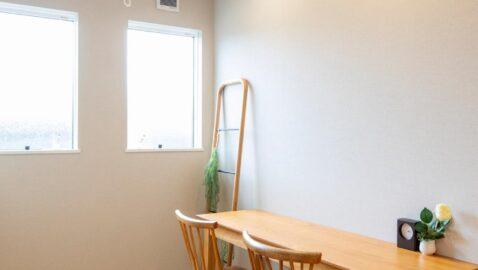 クローゼットなしのお部屋のイメージ。予備室として、子ども部屋にリモートワーク、趣味室や書斎、室内干しのお部屋として多用途に使えます!※イメージです。洗濯干し金物は付きません。