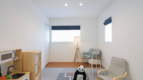 置き畳コーナーは気分に応じてフローリングにすることもできるので様々なお部屋の雰囲気を楽しめます♪
